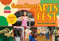 Arts Fest postcard