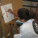Adult Drawing & Painting Student