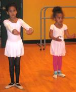 Students in Ballet