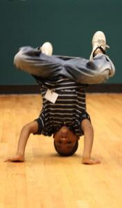 Breakdancing Arsean