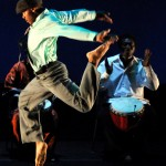 """Otis Donovan Herring, member of Evidence, A Dance company in """"Two-Year Old Gentlemen"""" choreographed by Ronald K. Brown"""