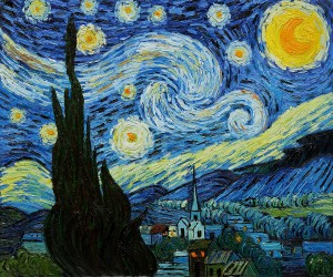 Starry Night by Vincent Van Gogh OSA430_1