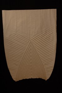 Bulb Tessellation, Folded Paper, 24x18, 2014